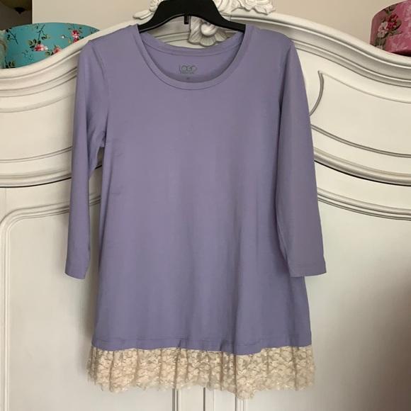 LOGO lavender tunic